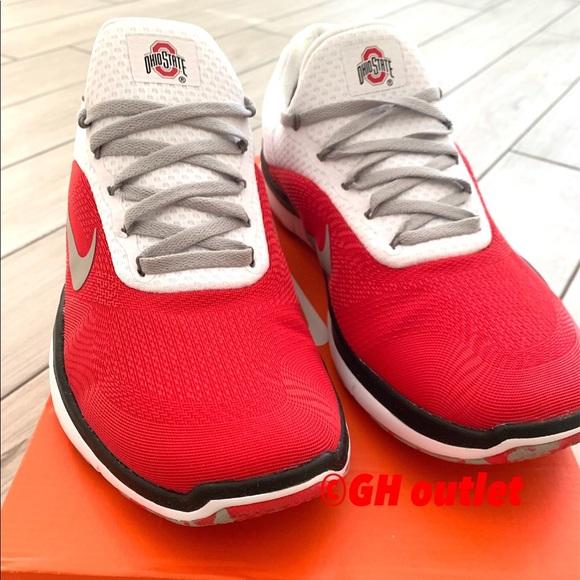 Nike Other - SOLD Nike Free Trainer V7 Ohio State Buckeyes